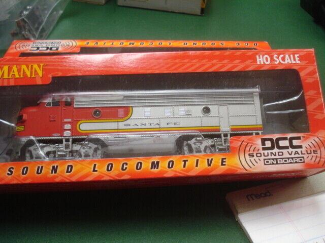 Bachmann Santa Fe F & a motor, con el DDC y el Sound 1   87 ho