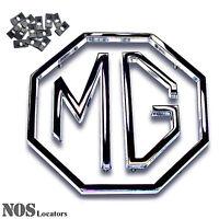 Mga, Mgb, Mgc, Mg1100, Midget, Za/zb 3-pc Metal Trunk Emblem Set