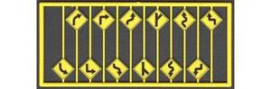 Tichy Train Group Warning Signs Set 3 Kit #8254 12 Pieces HO Scale New
