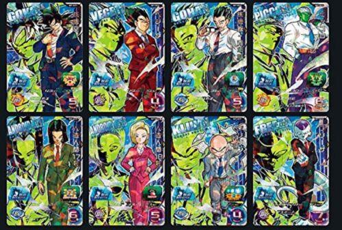 Super Dragon Ball Heroes SH7 SCP 8 Card Complete Set SH7-SCP SDBH DBH Japanese