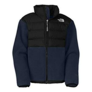 ae7236fd1 Details about THE NORTH FACE BOYS DENALI JACKET 550 DOWN FILL FLEECE BLUE  SIZE M 10/12 NEW