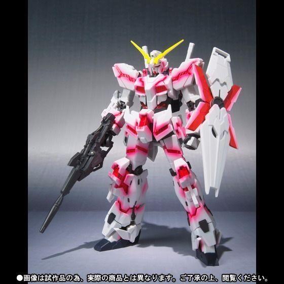 Robot Spirits Seite Ms Unicorn Gundam Destroy Modus Psycho Flamme Ver Figur