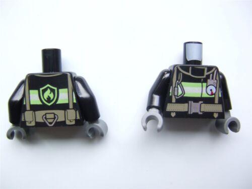 Parts /& Pieces - 6018492 2 x Lego Black Minifigure upper body parts No.2188