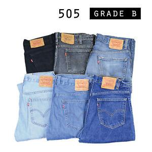 vintage levis 505 jeans denim klasse b w28 w30 w32 w34 w36 w38 levi 505s