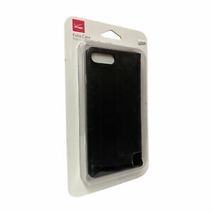 Verizon-Folio-Wallet-Leather-Case-for-iPhone-7-Plus-6-Plus-Black