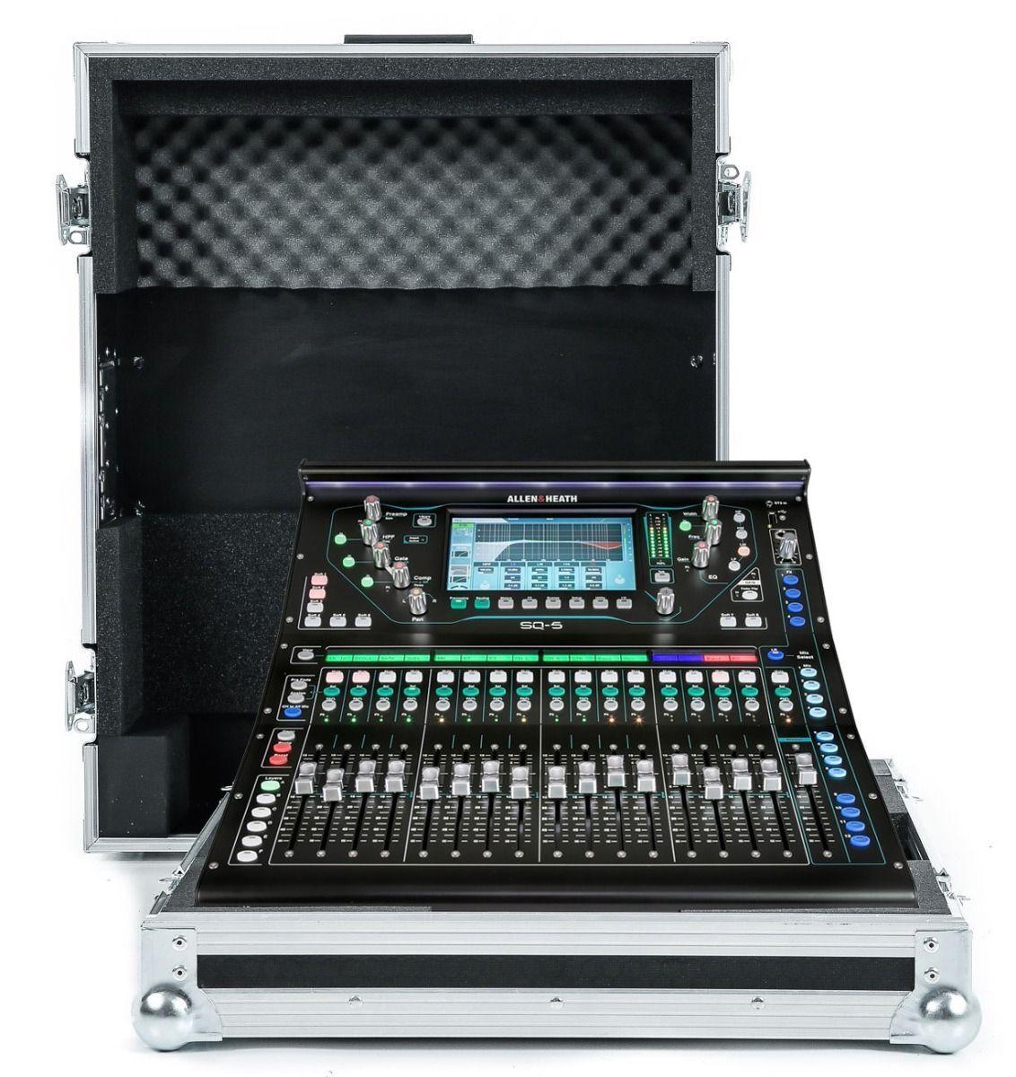 Allen & Heath SQ5 Mixer Flight Case von Nsp Hüllen