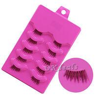 5 Pairs Half False Eyelash Kit Partial Long Thick Handmade False Eyelash Kit