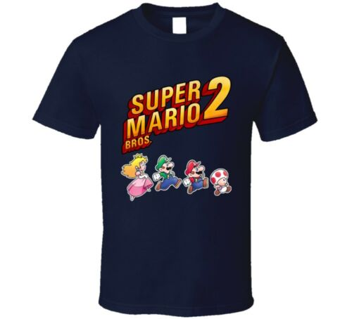 Super Mario Bros 2 Video Game Characters T Shirt
