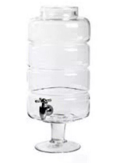 Nuevo En Caja Seletti Estetico Quotidiano Dispensador De Agua Jarra de Cristal 1.6 US galones