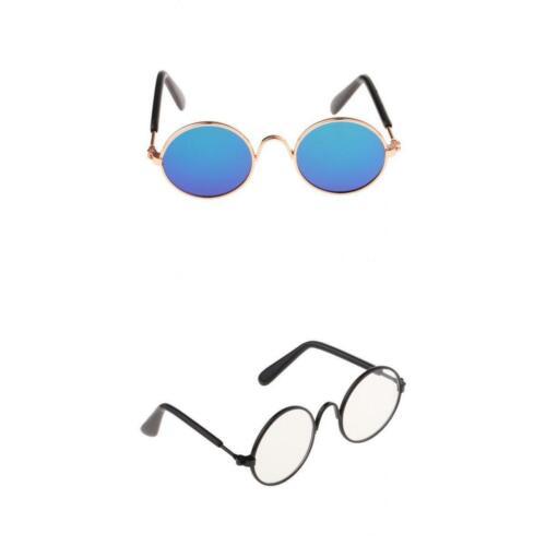 6 Farbverlauf Sonnenbrillen Rundrahmen für BJD Accs 2er Pack Schöne 1