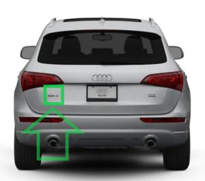 Neuf-D-039-Origine-Audi-Q5-2009-2017-039-Q5-039-Embleme-Badge-Logo-Chrome-8R08537412ZZ