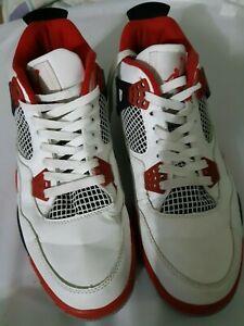 Air-Jordan-4-Retro-Flight-Red-White-Black-Men-Size-10-308497-106-2012