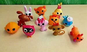 Giant-Lot-11-Lalaloopsy-Full-Size-Pets-Monkey-Fish-Dogs-Cats-Owl