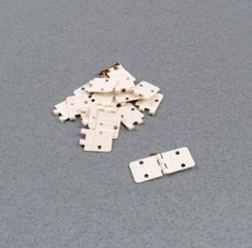 Flat Metal Pin Nylon Hinges 1st Post Folded Logic RC F-RCA143-10 x 11mmx14mm