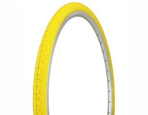 Yellow Duro Cross Ranger 700x35 Road City Fixie Hybrid Fitness Bike Bicycle Tire