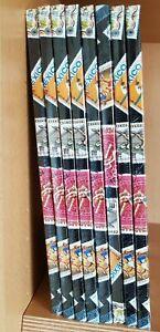 8x-Einsteckbuch-16-weisse-Seiten-Alben-mit-Briefmarken