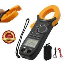 Digital Clamp On Meter Multimeter Ac Voltmeter Auto Range Volt Ohm Amp Tester