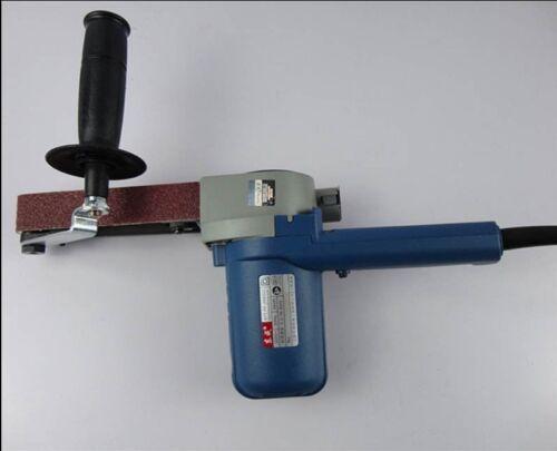 220V550W 30*533mm Variable Speed Belt Sander Sandpaper Buffing Polisher grinderU