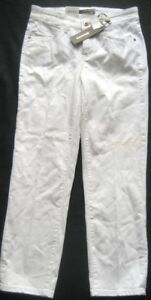 bianco taglia Pants Women Cambio Jeans For 34 in HwS1UxZf