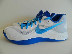 świetne oferty niesamowita cena miło tanio Details about Nike Hyperfuse Low ( White/Strata Grey-Game Royal ) ( 555034  100 ) New in box !