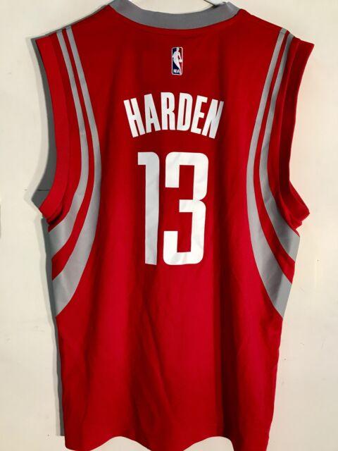 online retailer be8e4 37ec0 Adidas NBA Jersey Houston Rockets James Harden Red sz S