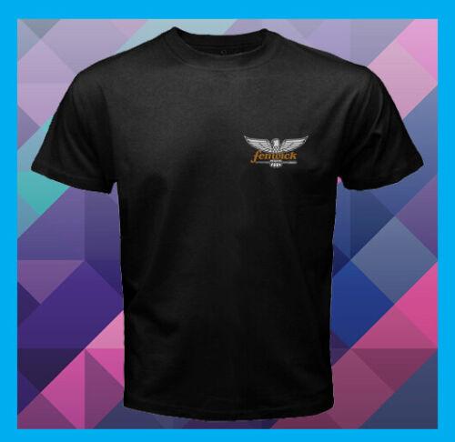 Fenwick Logo Fly Ice Fishing Rods NEW Men/'s Black T-Shirt S M L XL 2XL