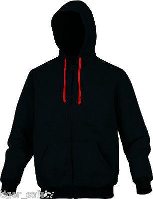 Delta Plus Panoply Anzio Mens Zip Up Fleece Lined Hoodie Hooded Sweater Jumper