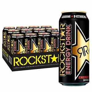 Rockstar Energy Drink O.G. 16oz Cans 12 Pack