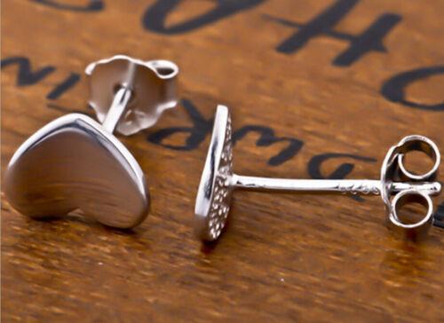 Ohrstecker Ohrring Herz kleines Herzchen aus Sterling Silber 925