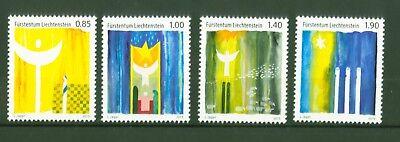 1695-98 ** Ein Unbestimmt Neues Erscheinungsbild GewäHrleisten Nr Weihnachten Christmas Noël Natale Navidad Liechtenstein 2013