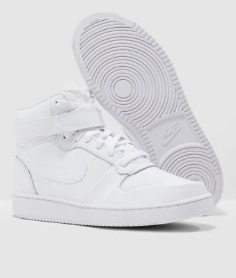 Nike ebernon Mid Premium Damen Sneakers weiß Leder aq1769 101 Schuhe Sneaker | eBay