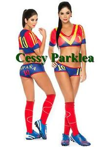 804591c1e31 Image is loading Sexy-Spain-Soccer-Player-Cheerleader-World-Cup-Football-