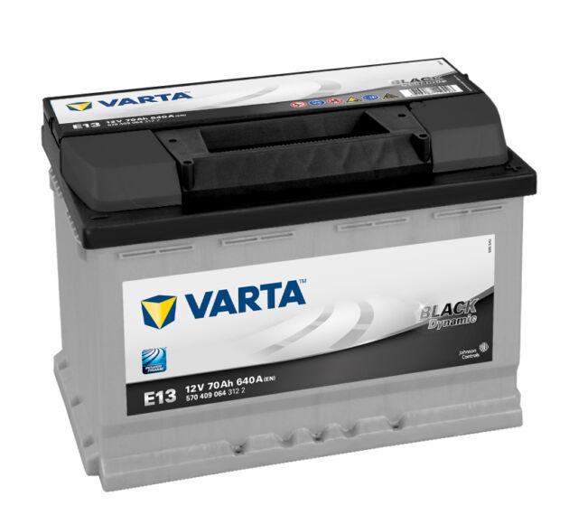 Varta Starterbatterie Black Dynamic 12V 701Ah   5704090643122