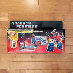 Transformers G1 Powermaster Optimus Prime *Original Box* *All Accessories*