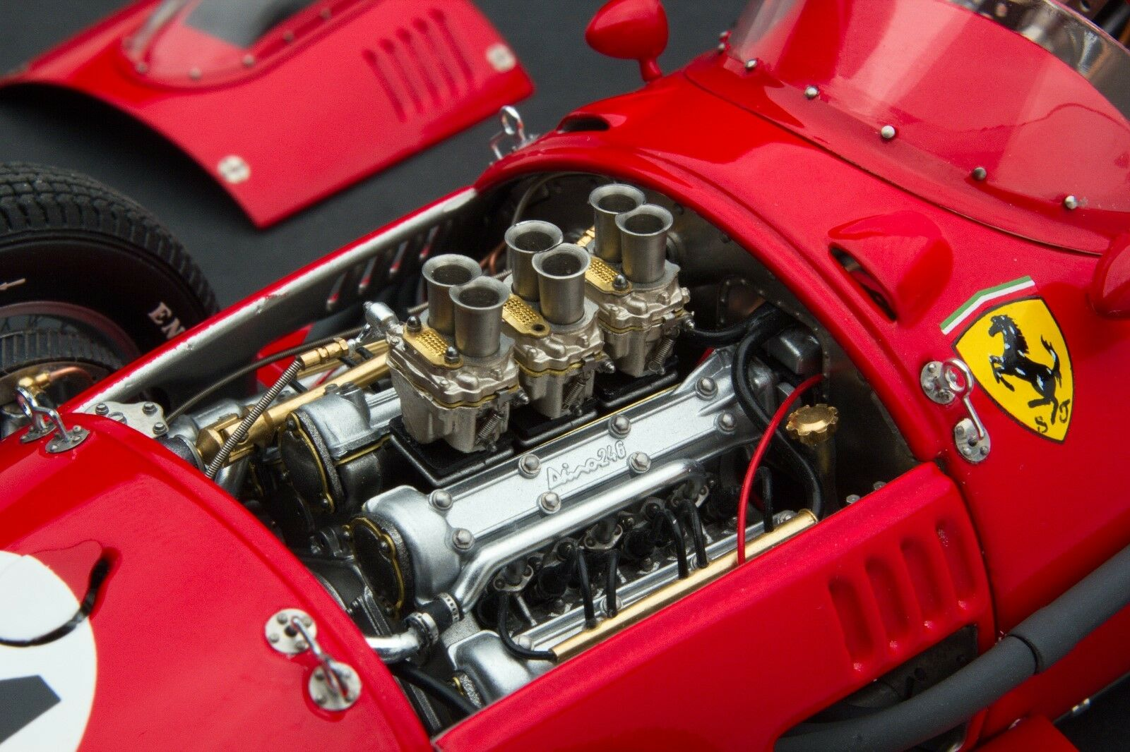 Exoto XS 1958 Ferrari Dino 246 F1   Luigi Musso   Monaco   1 18    Gpc97215