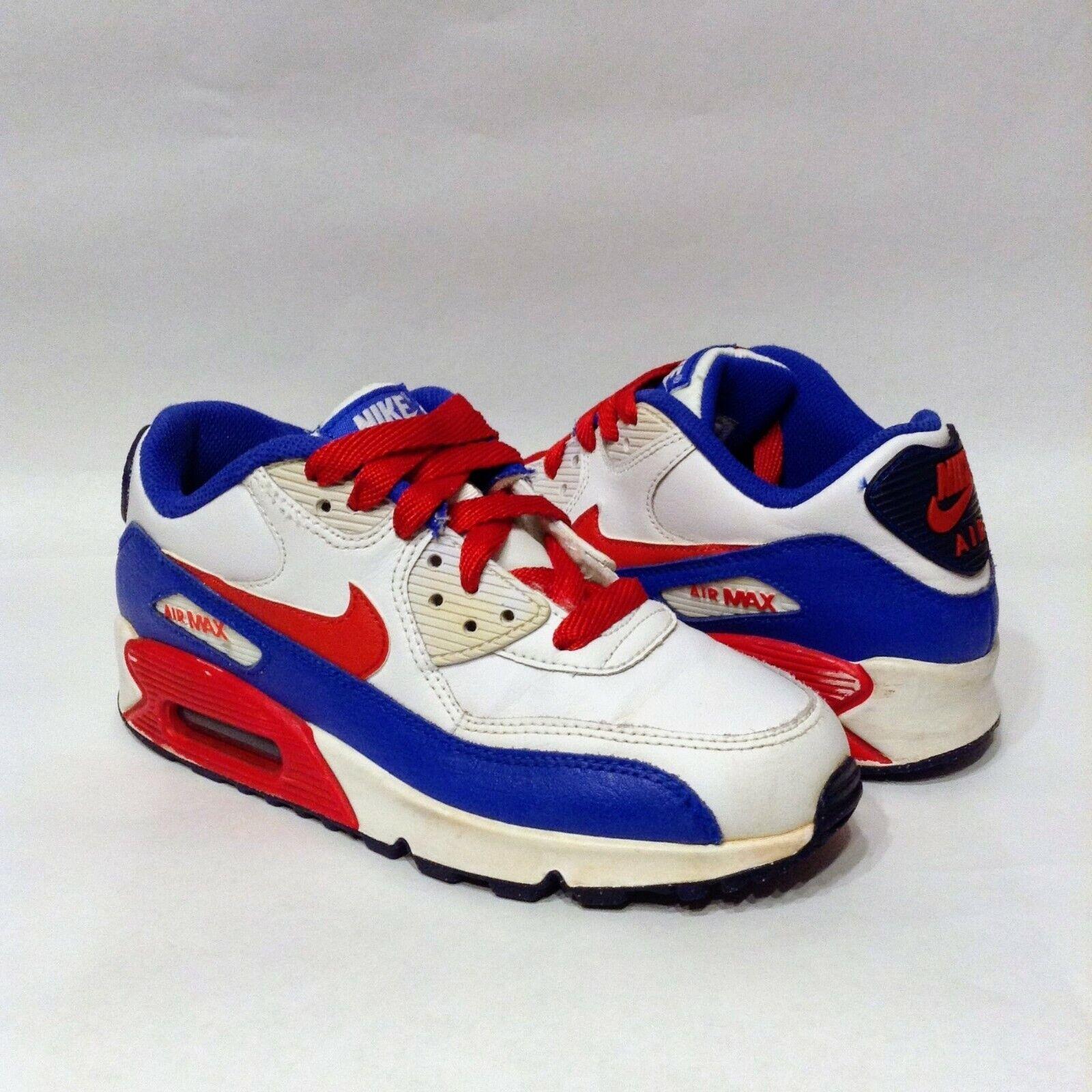 air max 90 red white blue