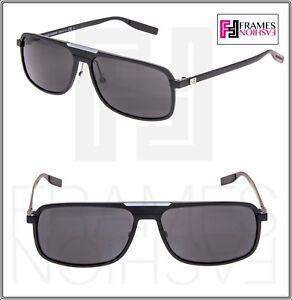 ab3110e9b5655 DIOR HOMME AL 13.7 Square Aluminum Matte Black Mirrored Metal ...