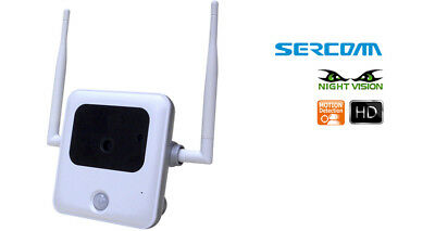 AT/&T OC821D Wireless and Wired Waterproof IP Camera Outdoor Indoor !