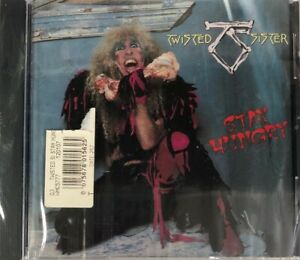 Twisted-Sister-Stay-Hungry-CD-Atlantic-Brand-NEW-with-crack