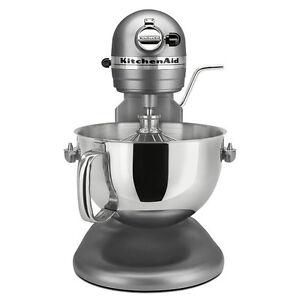 Details about KitchenAid RKP26M1X PRO 600 Stand Mixer 6 qt BIG Silver 600  Model