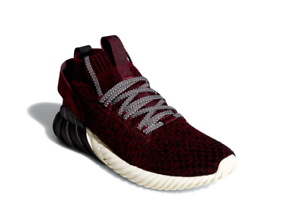 ADIDAS CQ0944 TUBULAR DOOM SOCK PK Mn´s (M) Blk Maroon Prime-Knit Athletic shoes