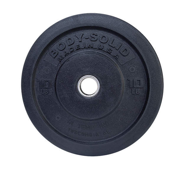 Premium Body Solid Bumper Single Plates 10lbs 25lbs 45lbs many available