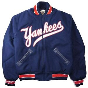 timeless design 91fb0 cd69c Details about New York Yankees 1951 Mitchell and Ness Wool Jacket 2XL(52)  3XL(56) 4XL(60)