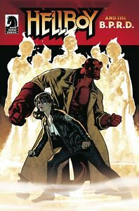 Hellboy-amp-The-BPRD-Seven-Wives-Club-1-Hughes-Cover-NM-1st-Print-Dark-Horse