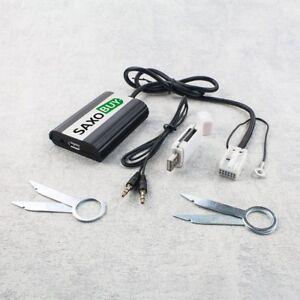 USB-SD-AUX-Adapter-AUDI-Concert-Symphony-Navi-Plus-RNS-E-Skoda-Seat-VW-12pin