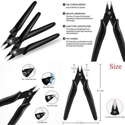 Boenfu Electrical Wire Cable Cutter Mini Cutting Plier Diagonal Side Cutter F...