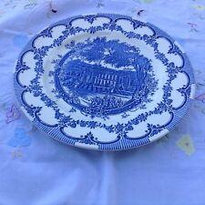 English Ironstone Tableware Ltd Chatsworth House plate some crazing