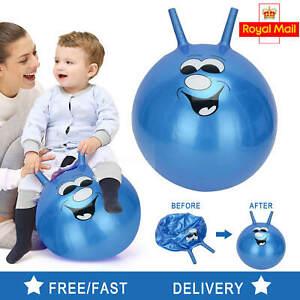 60 cm Grand exercice RETRO ESPACE HOPPER Play Ball Jouet Enfants Adulte Jeu