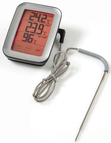 BBQ Thermometer mit Touchscreen Fleischthermometer Grill NEU Digitales Fleisch