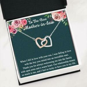 Mother\u2019s Day Double Heart Necklace For Hippie Mom Love Isn/'t Love /'til You Give It Away